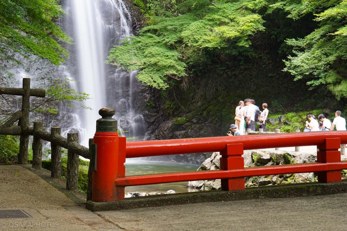 箕面大滝ライトアップ-DSC00680