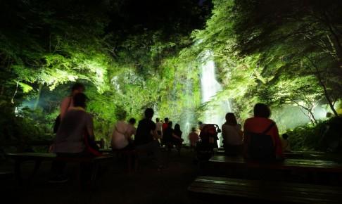 箕面大滝ライトアップ-DSC00701
