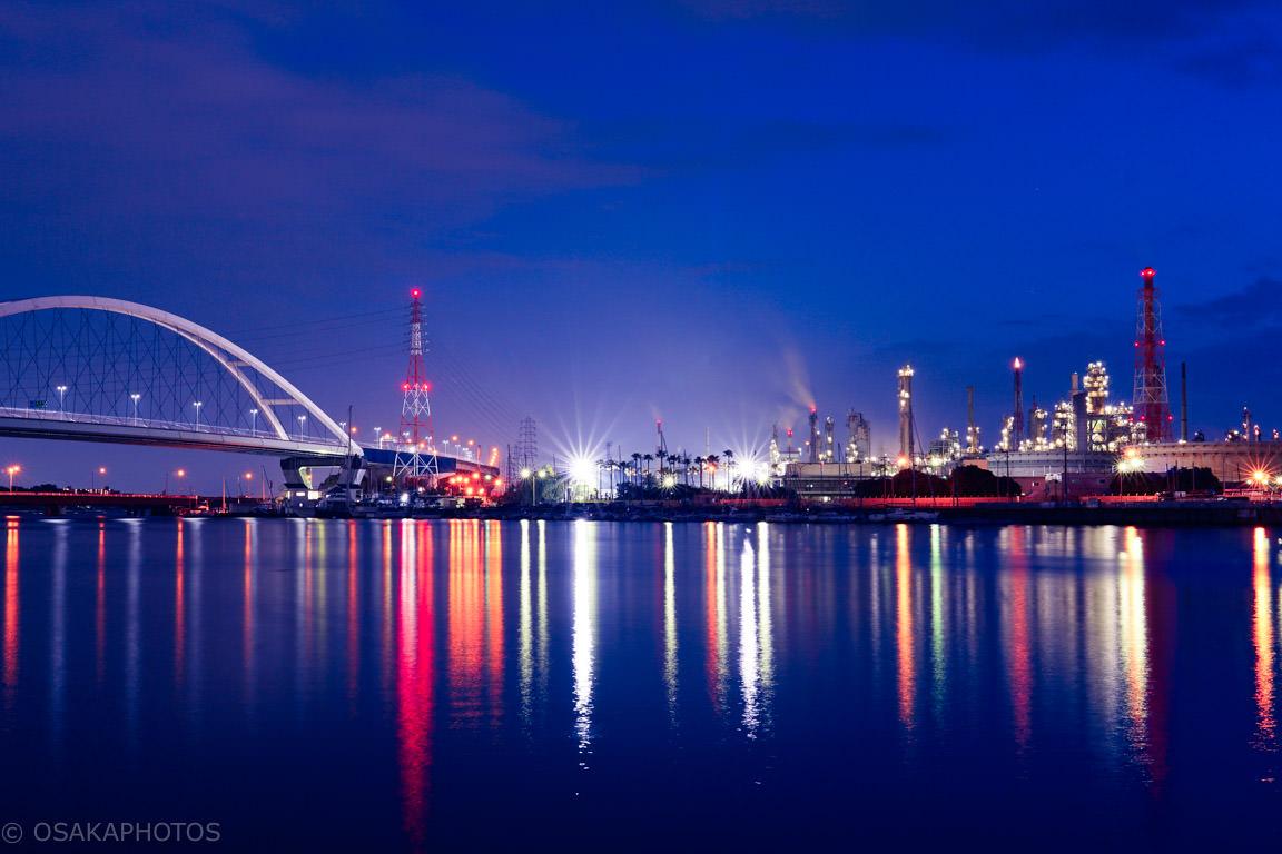 石津漁港 工場夜景-DSC00563-3