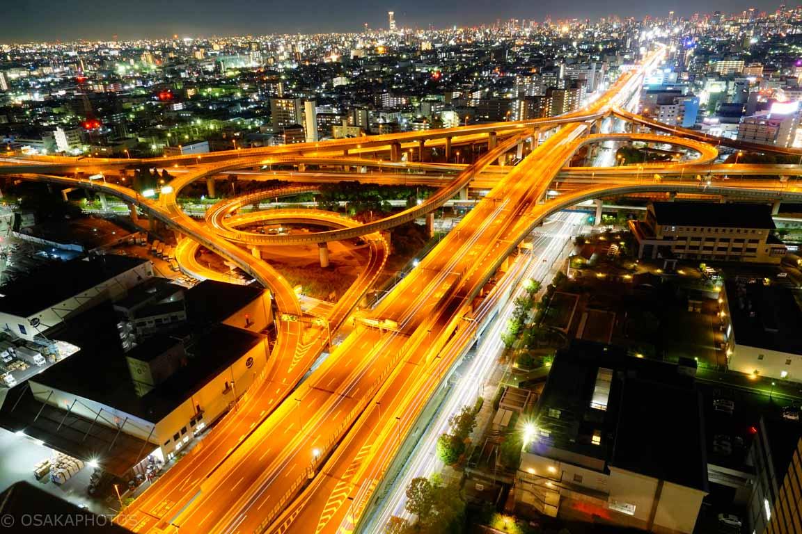 東大阪市役所ジャンクション夜景-DSC02449-2
