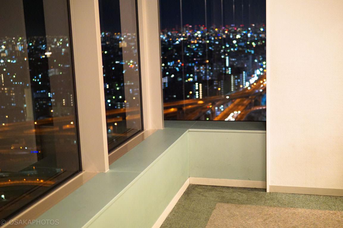 東大阪市役所ジャンクション夜景-DSC02458