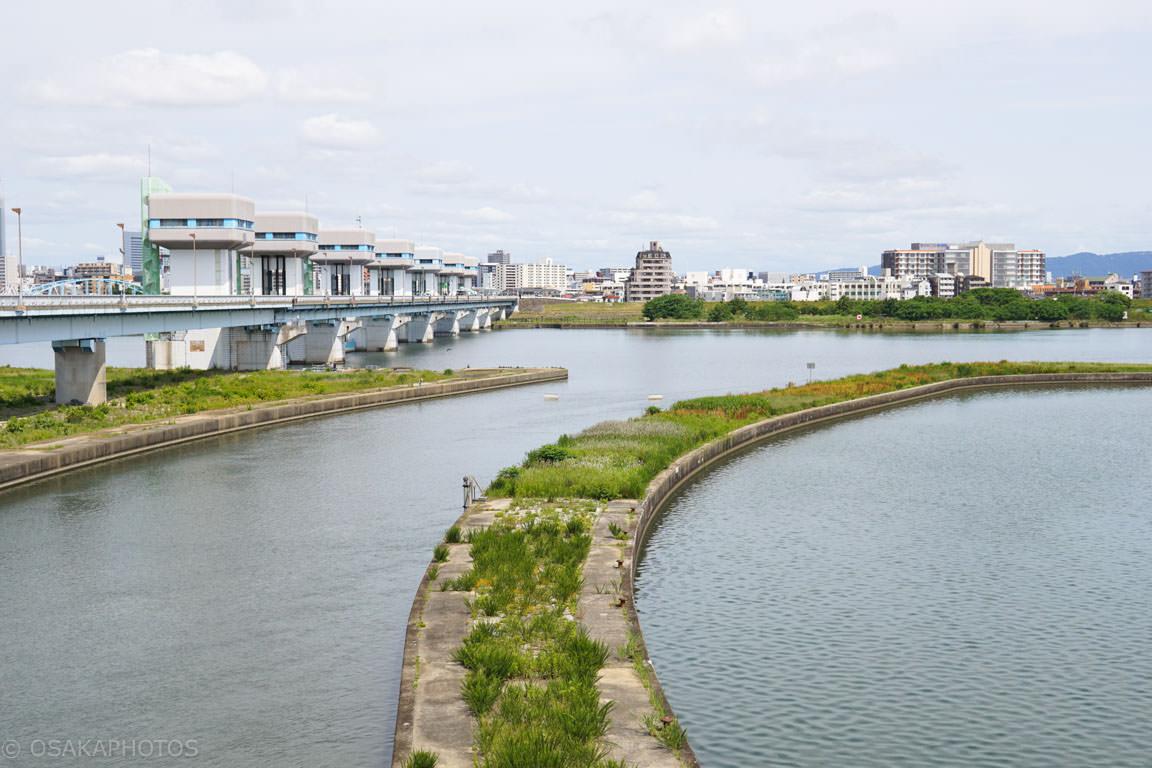 淀川 毛馬閘門-DSC01442