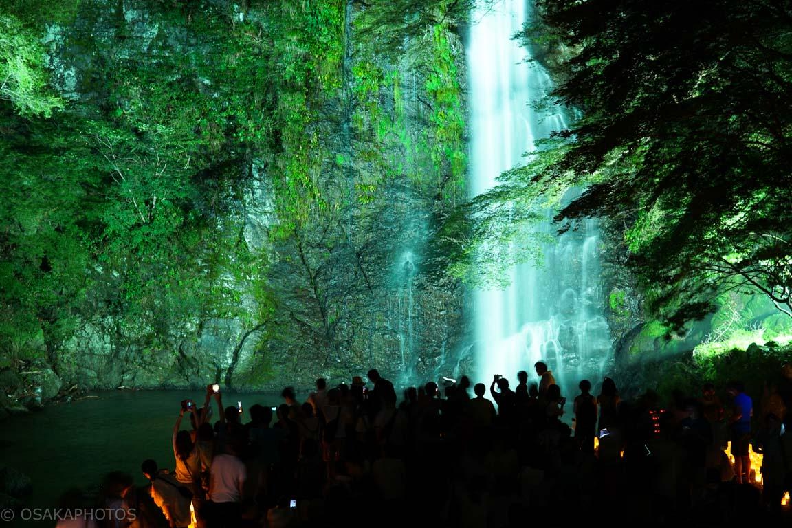 箕面の滝キャンドルロード-DSC04291