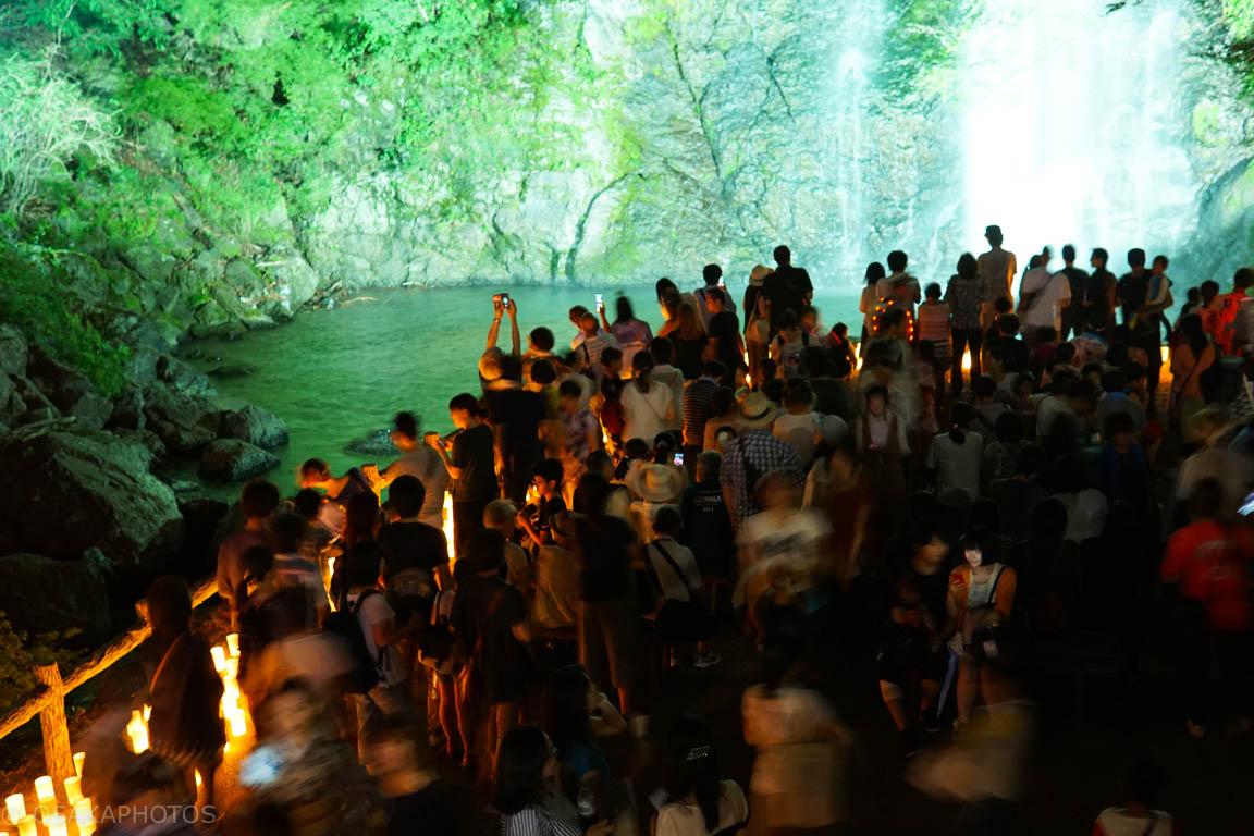 箕面の滝キャンドルロード-DSC04304