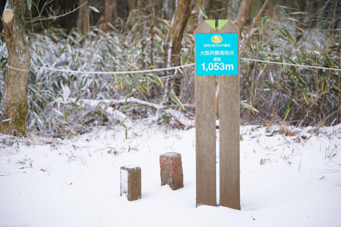 冬の金剛山-1