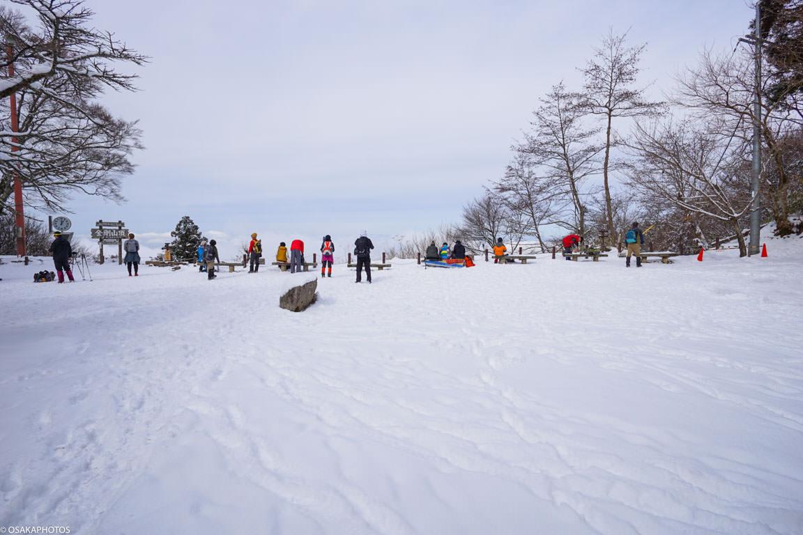 冬の金剛山-10