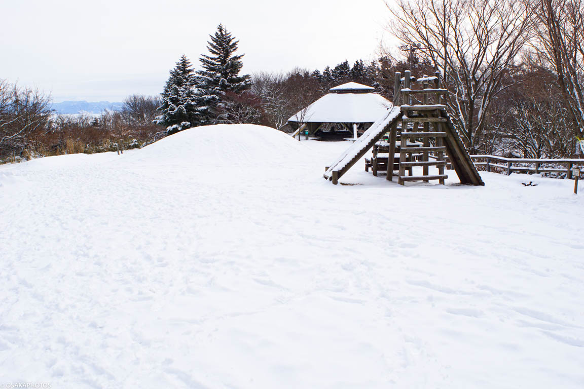 冬の金剛山-7
