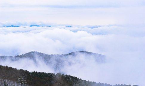 金剛山から見た雲海
