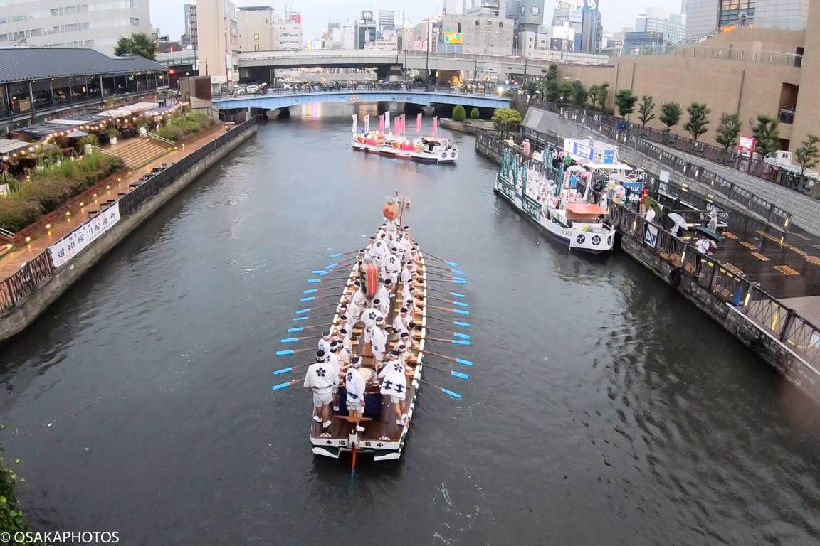 難波八坂神社夏祭り船渡御-21