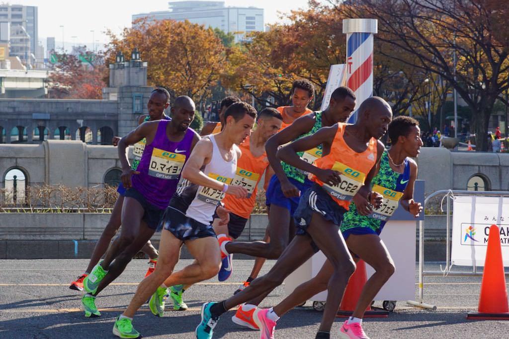 大阪マラソン 新コースの応援ポイント 5km折り返し地点 | 大阪の魅力を ...